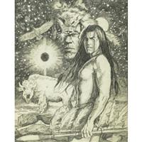 mystic warrior by greg hildebrandt