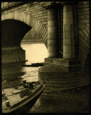 the bridge london from camera work 15 by alvin langdon coburn