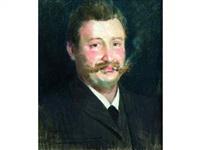 portrait de claudius berton by francois-maurice lard