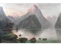 milford sound by james peele