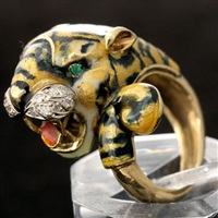 tiger ring by corletto (co.)