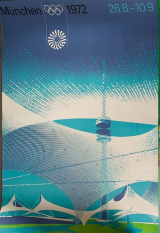 plakate zur olympiade in münchen poster set of 7 by otl aicher