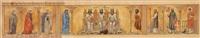 entwurf zu einem fries mit den drei kirchenvätern, links hl. maria magdalena by eastern european school (19)
