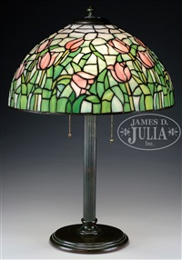 DUFFNER U0026 KIMBERLY TULIP TABLE LAMP