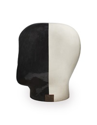 untitled head 96-08-03 by jun kaneko