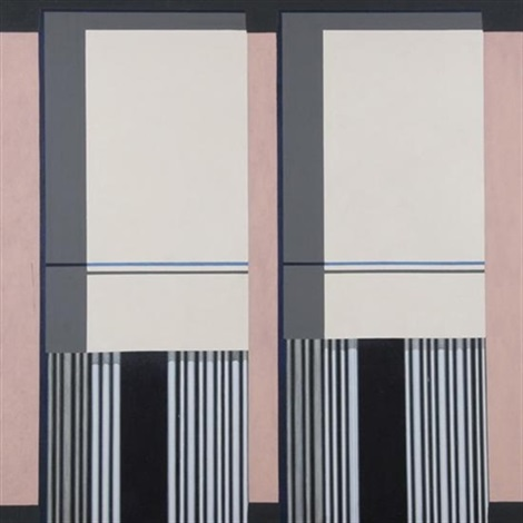 la windows with curtains by michael vinson clark