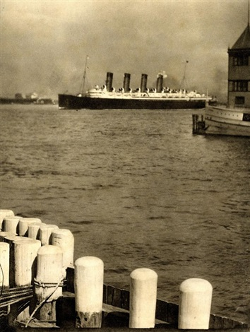 mauretania 1910 from aus camera work 36 by alfred stieglitz