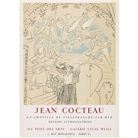 jean cocteau dessins lithographies galerie lucie weill by jean cocteau