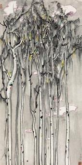 树影 by wu guanzhong