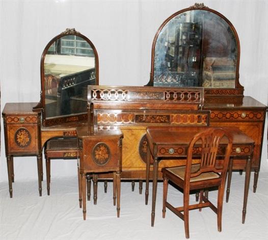 Amazing Bedroom Suite 7 Works By John Widdicomb Furniture Co