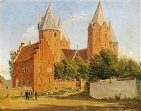 sommerdag ved kalundborg kirke by jacob kornerup