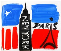new york - paris by mats gustafson