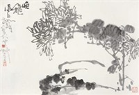 唤秋 (chrysanthemum) by cui ruzhuo and jiang fengbai