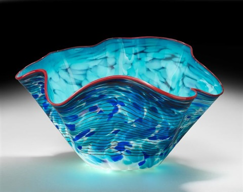 macchia bowl by dale chihuly