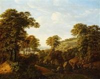 rheinische landschaft by carl dahl