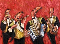 the accordion player by nikki godley