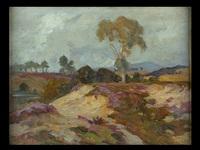 landschaft mit heidekraut by jean remond
