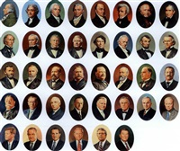 portraits of u.s. presidents (in 40 parts) by theodore xaras