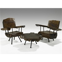 chairs and table suite (set of 3) by sabena