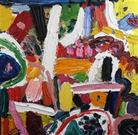 sidneian and showers by gillian ayres
