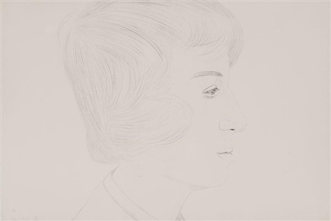 profile of vincent by alex katz