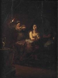 the death of cleopatra by johann jakob dorner the elder