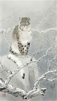 snow leopard by lin hukui