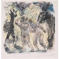 adam und eva im paradies by lovis corinth