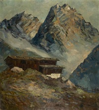 am wilden kaiser (in tirol) by elfriede mäckel