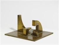 ohne titel (abstrakte skulptur) (4 works) by andré volten
