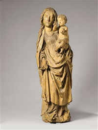 the virgin with child by tilman riemenschneider