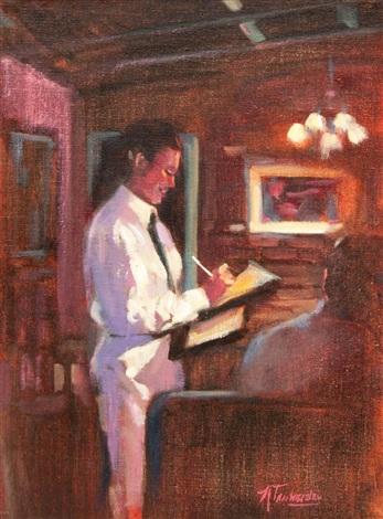 THE GOOD WAITRESS by Nancy Tankersley on artnet