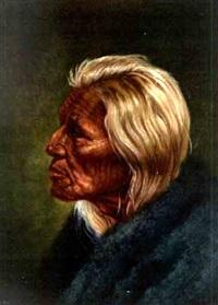 white head sioux elder by gregory perillo