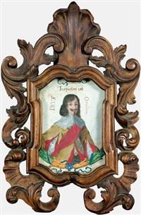 brustbildnis eines freiherrn von reinach by hans heinrich glaser