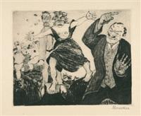 der narr in christo emanuel quint (portfolio of 30 w/colophon) by heinrich ehmsen