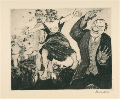 der narr in christo emanuel quint portfolio of 30 wcolophon by heinrich ehmsen