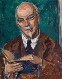 portrait friedrich eckstein by broncia koller-pinell
