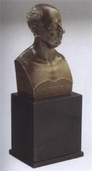buste des grossherzoges karl friedrich von baden by joseph kayser