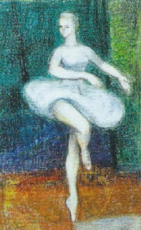 balletpige by gerda akesson