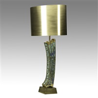 table lamp by pepe mendoza