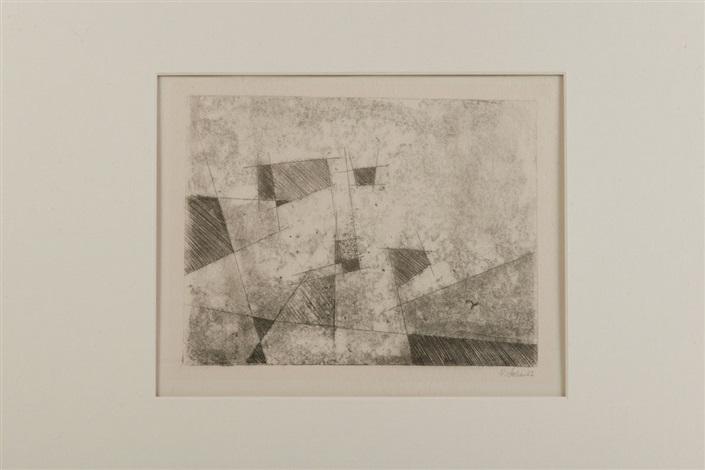 komposition über den dächern by rudolf jahns