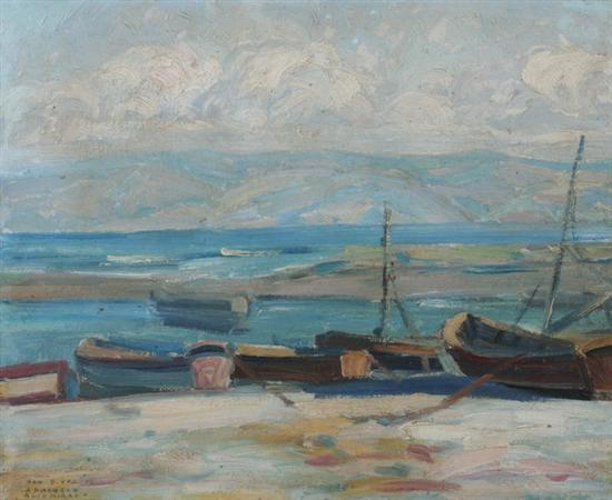 paisaje de la costa by arturo pacheco altamirano
