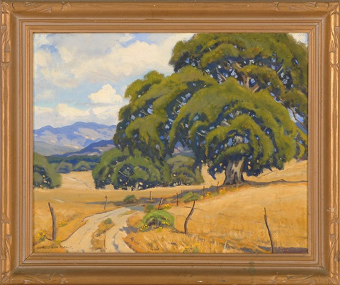 monterey california landscape by arthur hill gilbert