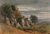 paysage et rochers by nathanaël lemaitre