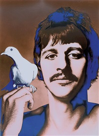 beatles-posters (5 works + 1 photo of the beatles; 6 works) by richard avedon