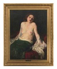 weiblicher akt by ferenc gaal