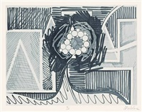 sanford (6 works, incl. 2 photogravures, 1 etching, 1 blind embossing, 1 aquatint, 1 line etching, each on wove paper, in wrapper) by thomas scheibitz