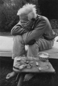 rodolfo olgiati, flims, anfangs mai 1995 by dino simonett