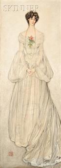 portrait of mrs. frances s. burroughs by nico jungmann