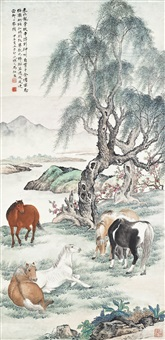 five horses by ma dai